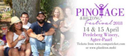 Biltong & Pinotage Festival 2018
