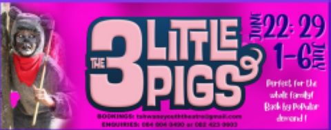 3 Little Pigs vs The Wolves - Pretoria