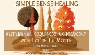 Autumnal Equinox Ceremony with Lyn de La Motte