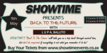 Back to the Future with Showtime Events