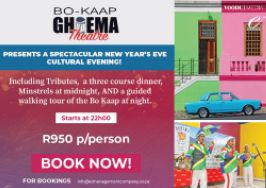 Bo Kaap Experience - New Years Eve