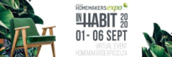 Cape Town HOMEMAKERS Expo InHabit Virtual Event 2020