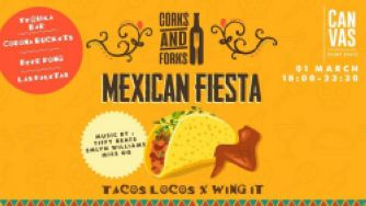 Corks & Forks Mexican Fiesta