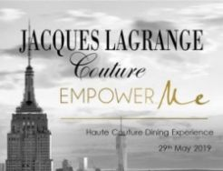 Empower Me Haute Couture Dinner with Jacques LaGrange