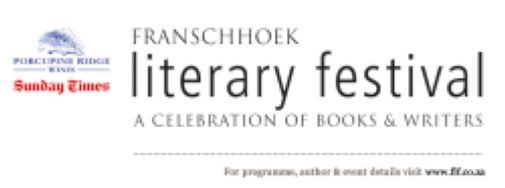 Franschhoek Literary Festival 2018