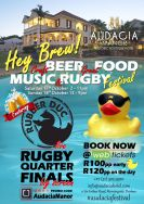 Hey Brew Craft Beer, Food, Music and Rugby Festival 2015