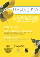 Italian Day Lunch & Live Music