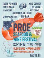Proe Seafood & Wine Festival