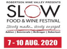 Robertson Slow Food & Wine Festival 2020