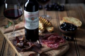 Stellenbosch Hills Local is Lekker Biltong & Wine Pairing
