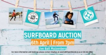 Surfboard Auction and Dinner