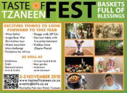 Taste of Tzaneen Fest 2018