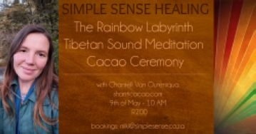 The Rainbow Labyrinth Tibetan Sound Meditation Cacao Ceremony