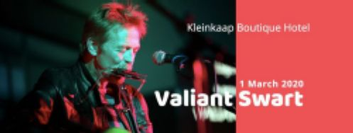 Valiant Swart at Kleinkaap Boutique Hotel