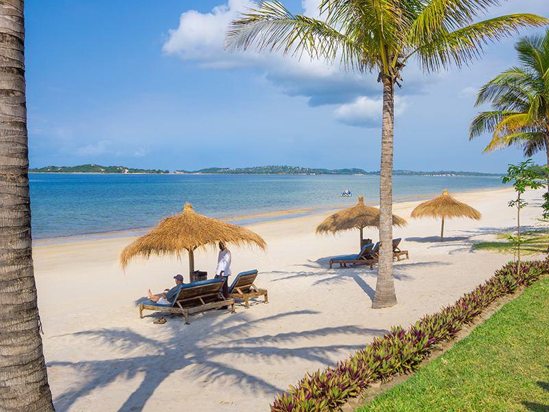 San Martinho Beach Club Praia do Bilene Mozambique