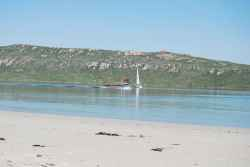 Langebaan on the beach