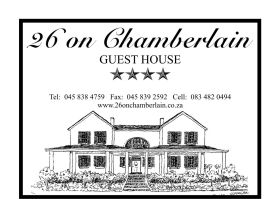 26 On Chamberlain Guest House