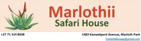 Marlothii Safari House
