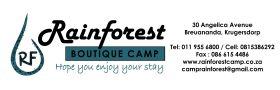 Rainforest Boutique Camp