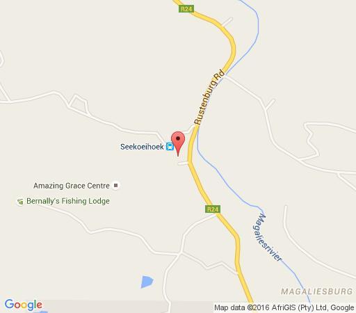 Map Rose Well Spa in Magaliesburg  West Rand  Gauteng  South Africa