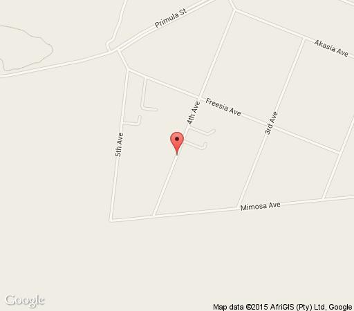 Map Birdsong Guest House in Hennops River  Centurion  Pretoria / Tshwane  Gauteng  South Africa