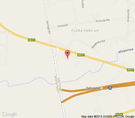 Map Amaduku Lodge in Hartbeespoort  Bojanala  North West  South Africa