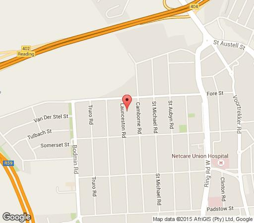 Map Lazaro\'s Guest House in New Redruth  Alberton  Ekurhuleni (East Rand)  Gauteng  South Africa