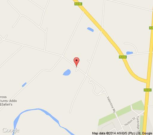 Map Bydand B&B in Addo  Cacadu (Sarah Baartman)  Eastern Cape  South Africa