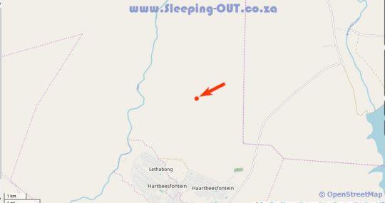 Map Mziki Safari Lodge in Pilanesberg  Bojanala  North West  South Africa