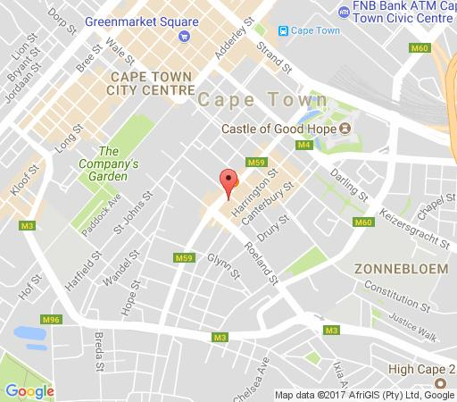 Map 809 @ 4 Seasons in Cape Town CBD  City Bowl  Cape Town  Western Cape  South Africa