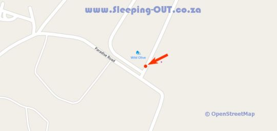 Map Random Harvest Country Cottages in Muldersdrift  West Rand  Gauteng  South Africa