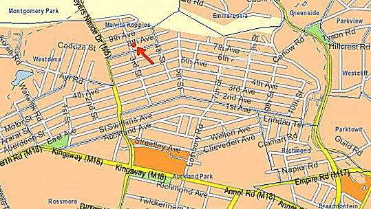 Map Life on 3rd in Melville (JHB)  Northcliff/Rosebank  Johannesburg  Gauteng  South Africa