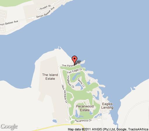 Map 472 Pecanwood in Hartbeespoort  Bojanala  North West  South Africa