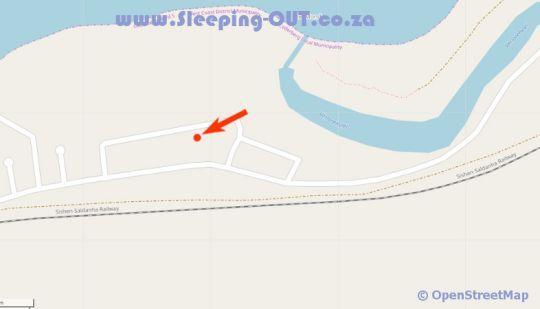 Map Benguela Elands Bay in Elands Bay  West Coast (WC)  Western Cape  South Africa
