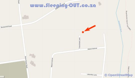 Map No 5 on Franschoek in Paulshof  Sandton  Johannesburg  Gauteng  South Africa