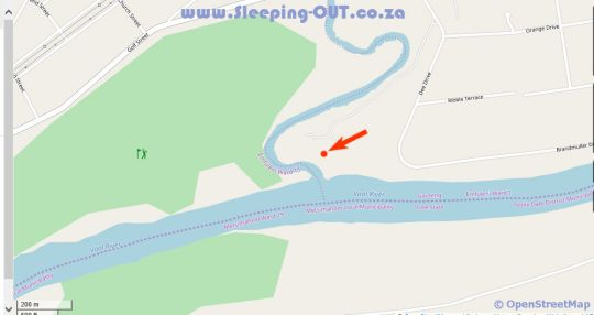 Map Three Rivers Waterfront No 4a in Vereeniging  Sedibeng District  Gauteng  South Africa