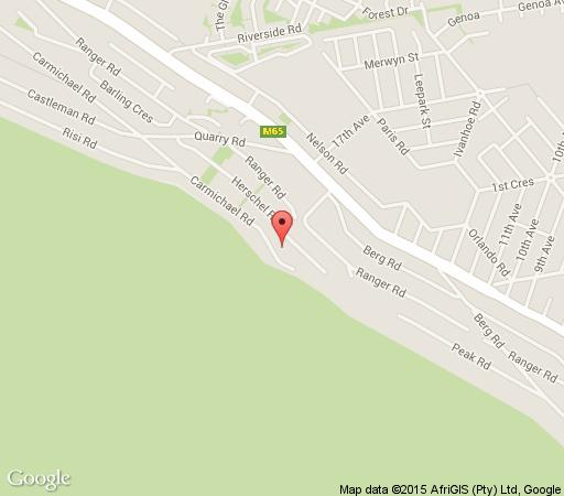 Map A Place In Thyme in Fish Hoek  False Bay  Cape Town  Western Cape  South Africa