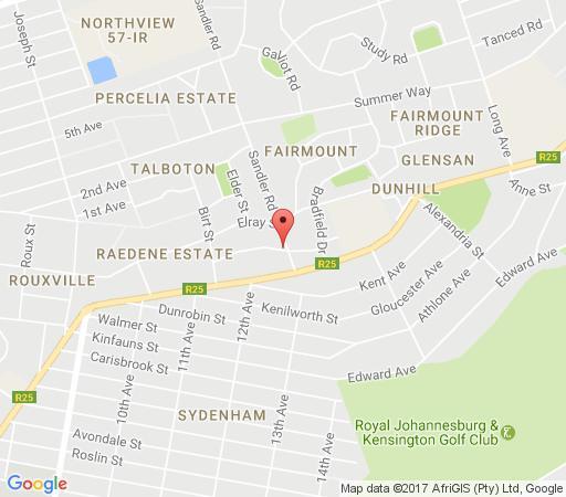 Map 44 on Livingston in Linksfield  Ekurhuleni (East Rand)  Gauteng  South Africa
