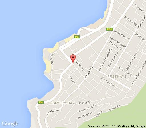 Map Cape Dutch Connection in Sea Point  Atlantic Seaboard  Cape Town  Western Cape  South Africa