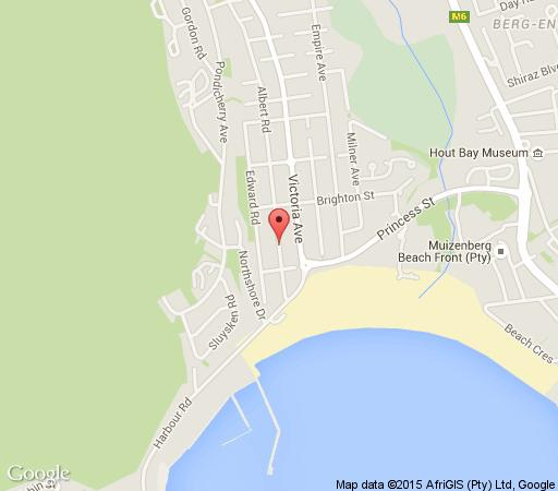 Map Montana Muse in Hout Bay  Atlantic Seaboard  Cape Town  Western Cape  South Africa