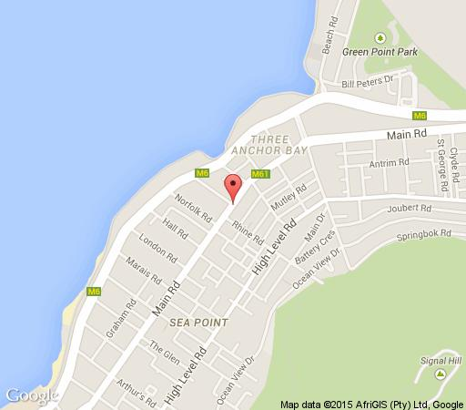 Map Atlantic Views 3 in Sea Point  Atlantic Seaboard  Cape Town  Western Cape  South Africa