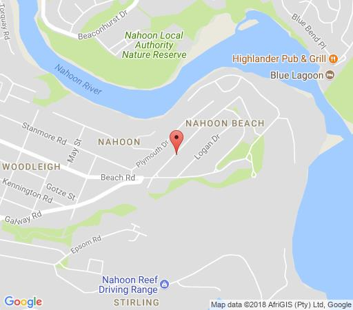Map Harewood lodge in Nahoon  East London  Amatole  Eastern Cape  South Africa