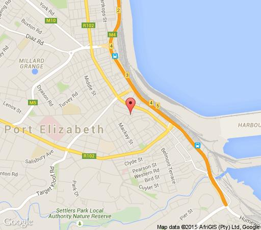 Map 1 Sherlock Street in Richmond Hill  Port Elizabeth  Cacadu (Sarah Baartman)  Eastern Cape  South Africa