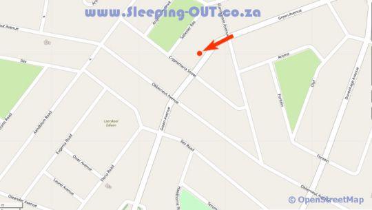 Map Big 5 guesthouse in Kempton Park  Ekurhuleni (East Rand)  Gauteng  South Africa
