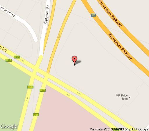 Map Zia\'s Accommodation Rondebosch in Rondebosch  Southern Suburbs (CPT)  Cape Town  Western Cape  South Africa