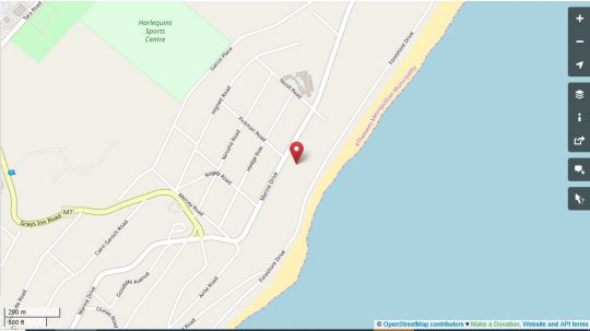 Map ANNEX The White House SEASIDE in Brighton Beach  Durban  Durban and Surrounds  KwaZulu Natal  South Africa