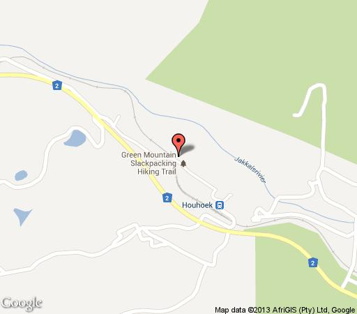 Map Wildekrans Country House in Grabouw  Overberg  Western Cape  South Africa