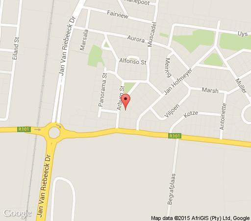 Map Lu\'s Guest House in Paarl  Winelands  Western Cape  South Africa