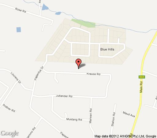 Map Heron Chase Guest House in Kyalami  Midrand  Johannesburg  Gauteng  South Africa
