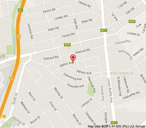 Map The Savoy Guesthouse in Melrose North  Sandton  Johannesburg  Gauteng  South Africa